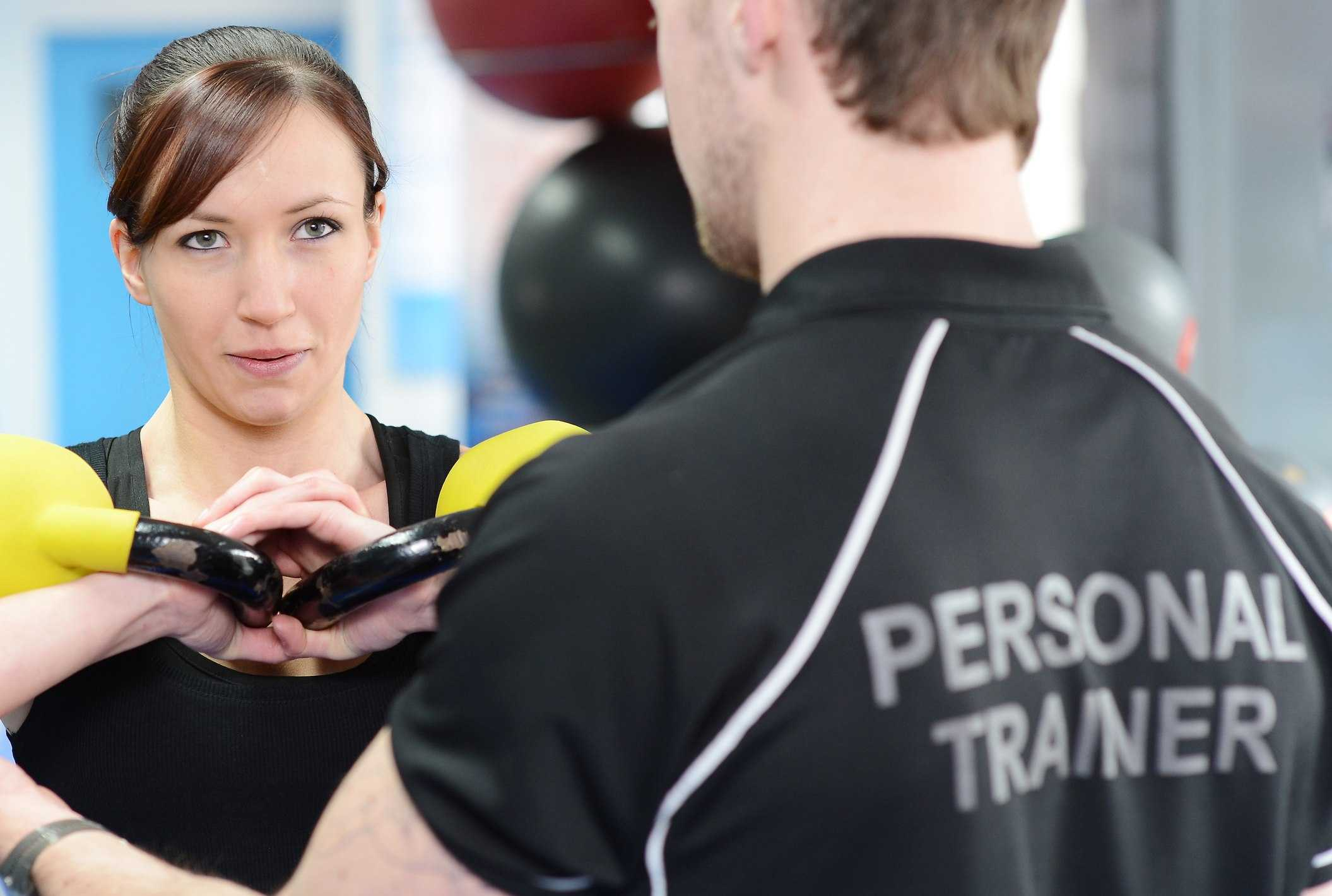 personal training career
