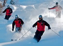 skiier strong legs