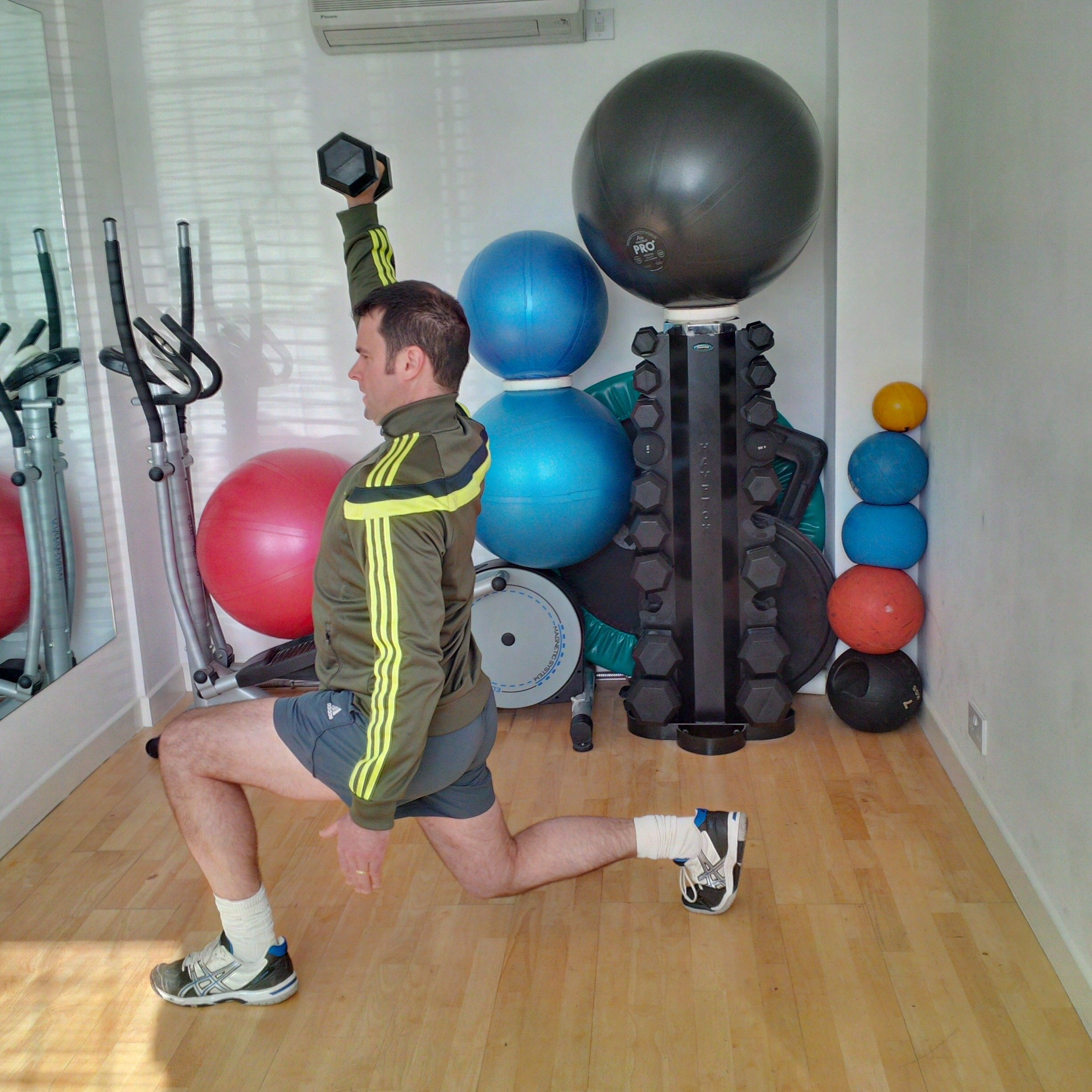 Lunge Push Press Combination Part 2