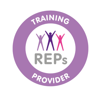Thrilled to be a REPs recognised training provider