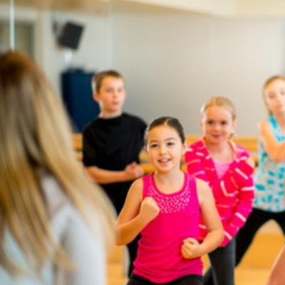 kids fitness course