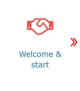 welcome and start