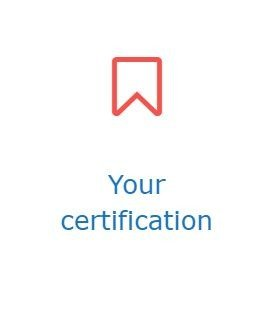 your certification