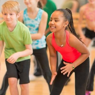 running kids exercise classes